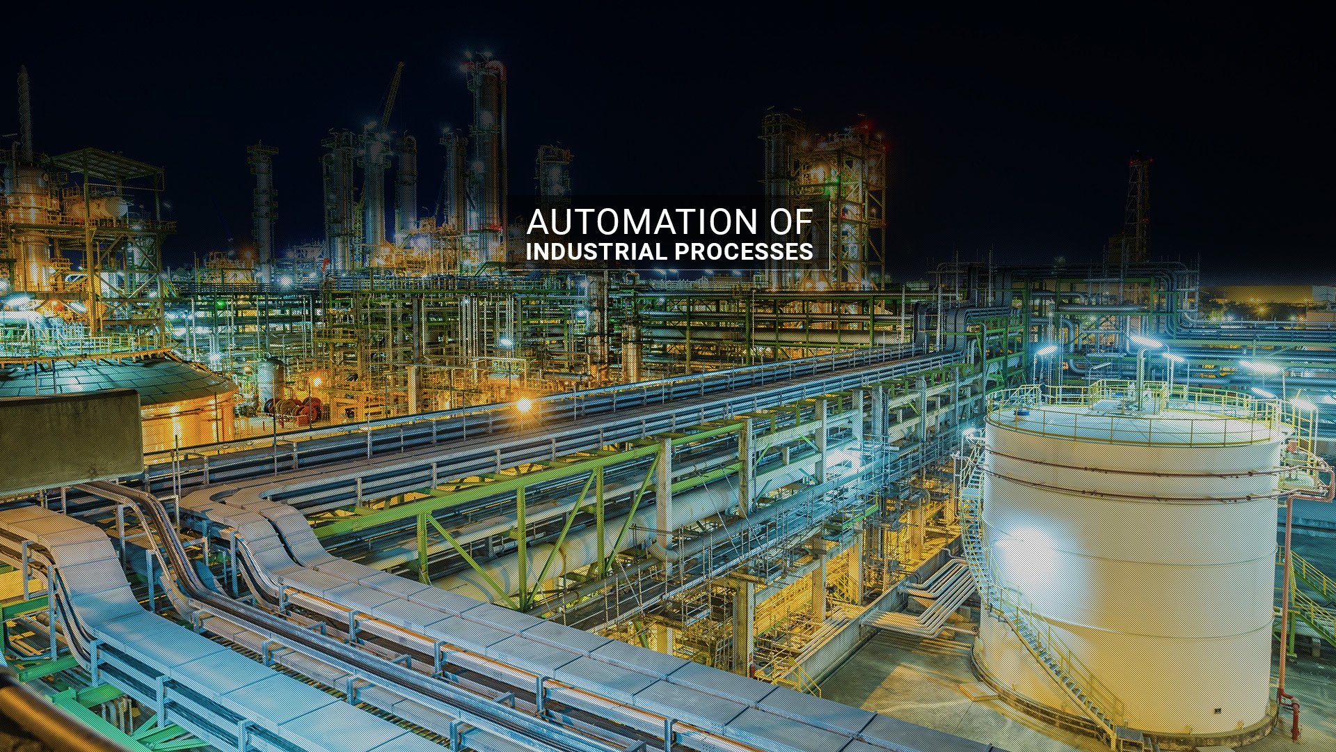 Automation of Industrial Processes